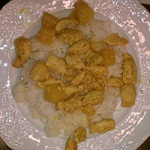 Ginger Curried Pineapple Chicken Over Rice